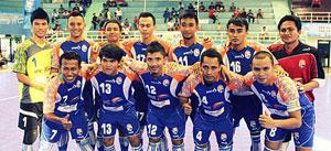 Skuat IPC Pelindo. Pada Pergelaran RSC V bakal turunkan pemain asing.