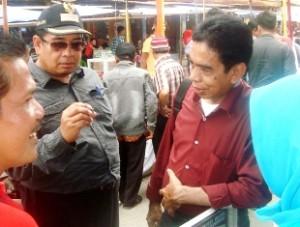 Ketua Pelaksana Khairul Apit dan Wakil Bupati Limapuluh Kota H Asyirwan Yunus sambangi etalase Lumuik Suliki