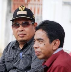 Ketua Pelaksana Khairul Apit dan Wakil Bupati Limapuluh Kota H Asyirwan Yunus