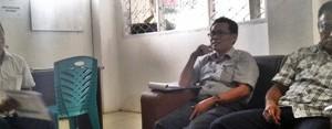 Kabid Perencanaan dan Anggaran Zurmanuddin bersama Pengurus KONI Payakumbuh