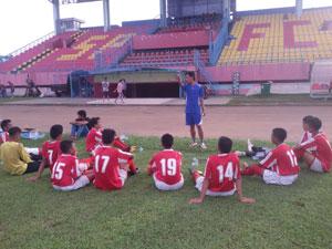 Latihan Akademi PSP Padang.