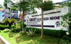 Gedung Sekolah Akselerasi SMART Ekselensia di Bogor, Jawa Barat.
