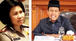 Kapolres Payakumbuh AKBP Yuliani dan Ketua DPRD Payakumbuh YB Dt Parmato Alam