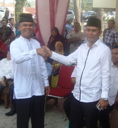 Bakal calon wakil bupati - Zulhikmi dan Ilson Cong.