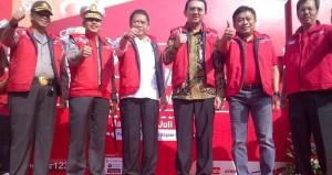 Gubernur DKI Lepas Keberangkatan Pemudik Lebaran Mogi Telkomsel.