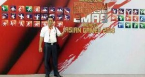 Dedrizal di Rapat Koordinasi Pembinaan Olahraga Nasional di Jakarta Convention Center, Jakarta 26-28 Agustus 2015.