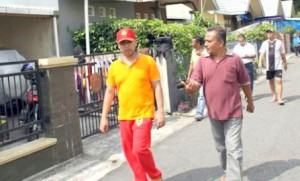 Walikota Padangpanjang bersama warga.