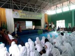 Korem 032/Wbr Berikan Materi Wasbang di Universitas Muhammadiyah Sumbar