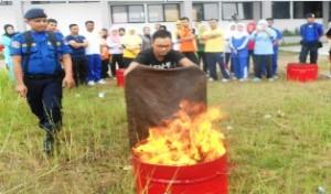 Penanganan Bencana terus dilatih oleh BPBD Payakumbuh. Mengurangi dampak kebencanaan.