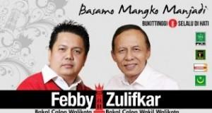 Uda Ifkar, Sosok Cawawako Bukittinggi Pendamping H Febby Dt Bangso