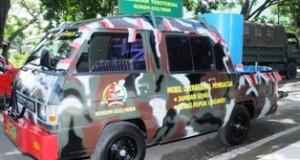 Korem 032/Wbr Luncurkan Mobil Operasional Untuk Percepat Tercapainya Program Sejuta Jamban