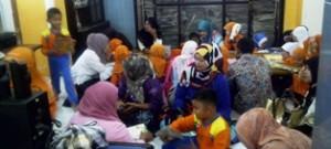 Murid TK Istiqlal berkunjung ke Perpustakaan daerah