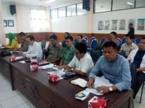 Peserta Rapat Persiapan Tour de Singkarak 2015 Kota Payakumbuh, Kadis Kesehatan Elzadaswarman