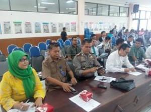Peserta Rapat Persiapan Tour de Singkarak 2015 Kota Payakumbuh, Para Kepala SKPD, dan Kapolsek Kota Payakumbuh AKP Russirrwan