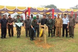 TMMD ke-95 Dharmasraya Resmi Dibuka, Berdayakan Masyarakat Pedesaan