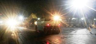 Pengaspalan ruas jalan di Payakumbuh yang dilewati rute TdS dikebut. (f/rifki)