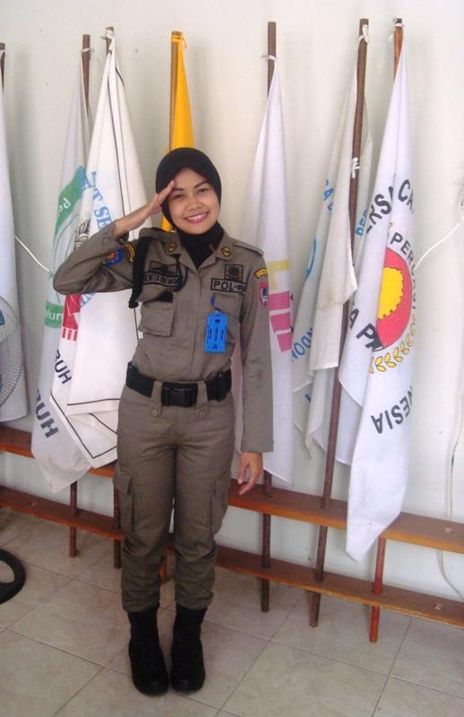Pol PP Cantik Renita Dewiva, SE, Atlet Paralayang Payakumbuh