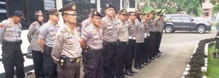 TdS - Apel Bersama Polres Payakumbuh. 380 personil siap bertugas.