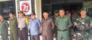 TdS - Apel Gabungan Polres Payakumbuh dihadiri Wawako dan Ketua DPRD
