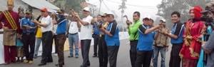 TdS Stage 5 - Pacu Itiak dipimpin Wako Payakumbuh H Riza Falepi.