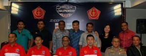Peserta Piala Sudirman bersama pihak Mahaka dan TNI