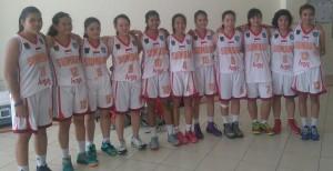 Tim basket putri Sumbar