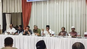 Pemkab Limapuluh Kota dipimpin Plh Bupati Yendri Thomas bersilaturahmi dengan para tokoh