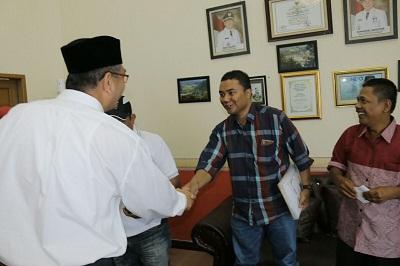 Dodi Syahputra, Padang Today, bersama Wako Riza Falepi