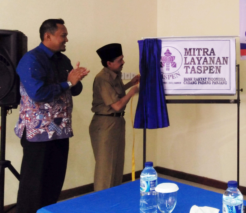 Mitra Layanan Taspen di Padangpanjang.