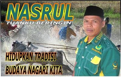 Ketua DPC PBB Payakumbuh Nasrul Tuangku Beringin