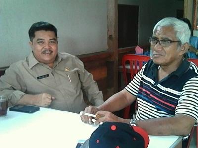 H Asmadi Thaher dan Sekda Payakumbuh H Benni Warlis