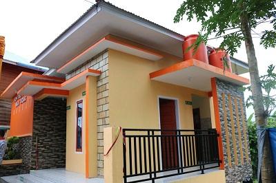 Inilah bangunan MCK Plus yang diresmikan Walikota Riza Falepi di Kelurahan Balai Cacang, Payakumbuh Utara, Kamis.
