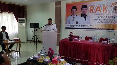 Hamdi Agus Ketua DPD PKS Payakumbuh