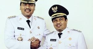Bupati Irfendi Arbi dan Wabup Ferizal Ridwan