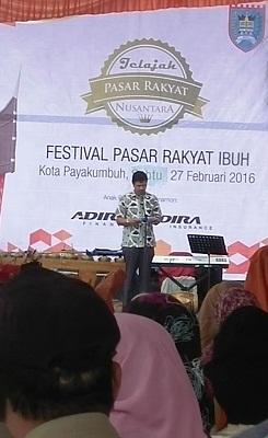Festival Pasar Rakyat Ibuah Payakumbuh