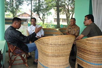 Wabup Limapuluh Kota Ferizal Ridwan bersilaturahmi dengan Dandim 0306 50 Kota Letkol Inf Heri Sumitro SPd
