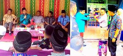 BUMNag dan Depot Air Minum Ladang Padi Nagari Kurai diresmikan Wabup Ferizal Ridwan dan Anggota DPRD Wendi Chandra Dt Marajo