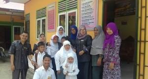 Guru dan Siswa PLB Syekh Muhammad Sa'ad Mungka