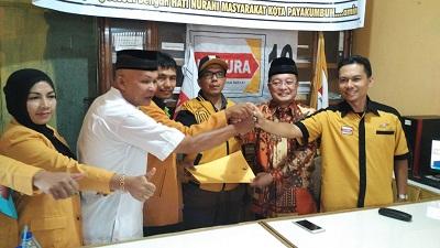 H Almaisyar mendaftar ke DPC Hanura