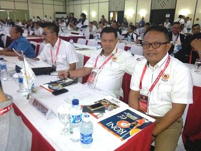 KONI Sumbar di Rapat Anggota KONI Pusat