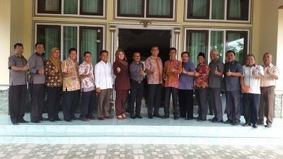 KPU Sumbar, KPU Payakumbuh bersama Walikota Riza Falepi