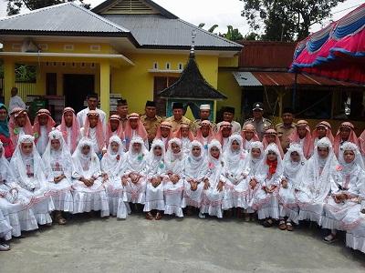 Wawako Suwandel Muchtar, Khatam Quran di Padang Alai