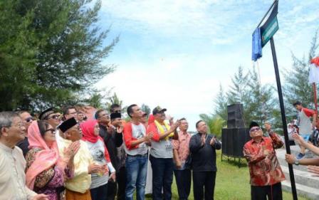 Peresmian Jalan H. Bagindo Dahlan Abdullah