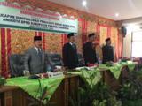 Pengambilan Sumpah dan Janji Pergantian Antar Waktu Anggota DPRD Kabupaten Padang Pariaman dari Alm Erfan Ganef kepada Siswanto