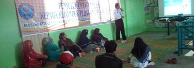 Penyuluhan Tatap Muka Kepada Kelompok Pedagang Pasar Ibuah Payakumbuh