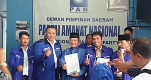 Tim Penjaringan Bakal Calon Walikota dan Wakil Walikota DPD PAN Payakumbuh bersama Bacalon H Almaisyar