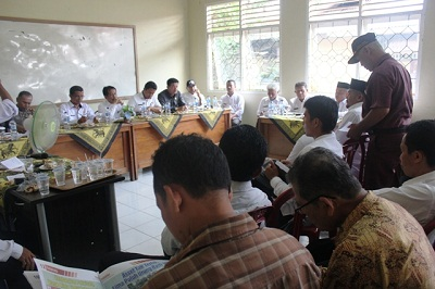 Wabup Ferizal Ridwan Rakor di Lareh Sago Halaban