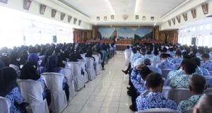 Rapat koordinasi gabungan kepala daerah dengan pejabat eselon se-Limapuluh Kota