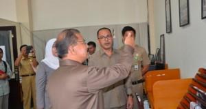 Bupati Padangpariaman, Ali Mukhni memaparkan tentang KIP