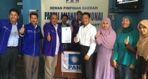 Dr Rahmad Mendaftar di PAN, Siapkan Pembangunan Akhlak Payakumbuh